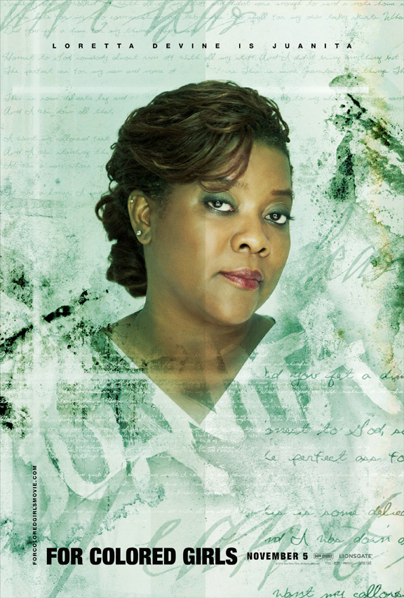 "Loretta Devine, who stars in Tyler Perry's ""For Colored Girls,"" has been a longtime force in Hollywood./Credit: Lionsgate"