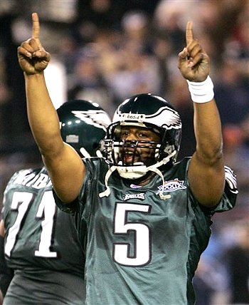 Former Phildelphia Eagles quarterback Donovan McNabb has been held to a different standard by the media.