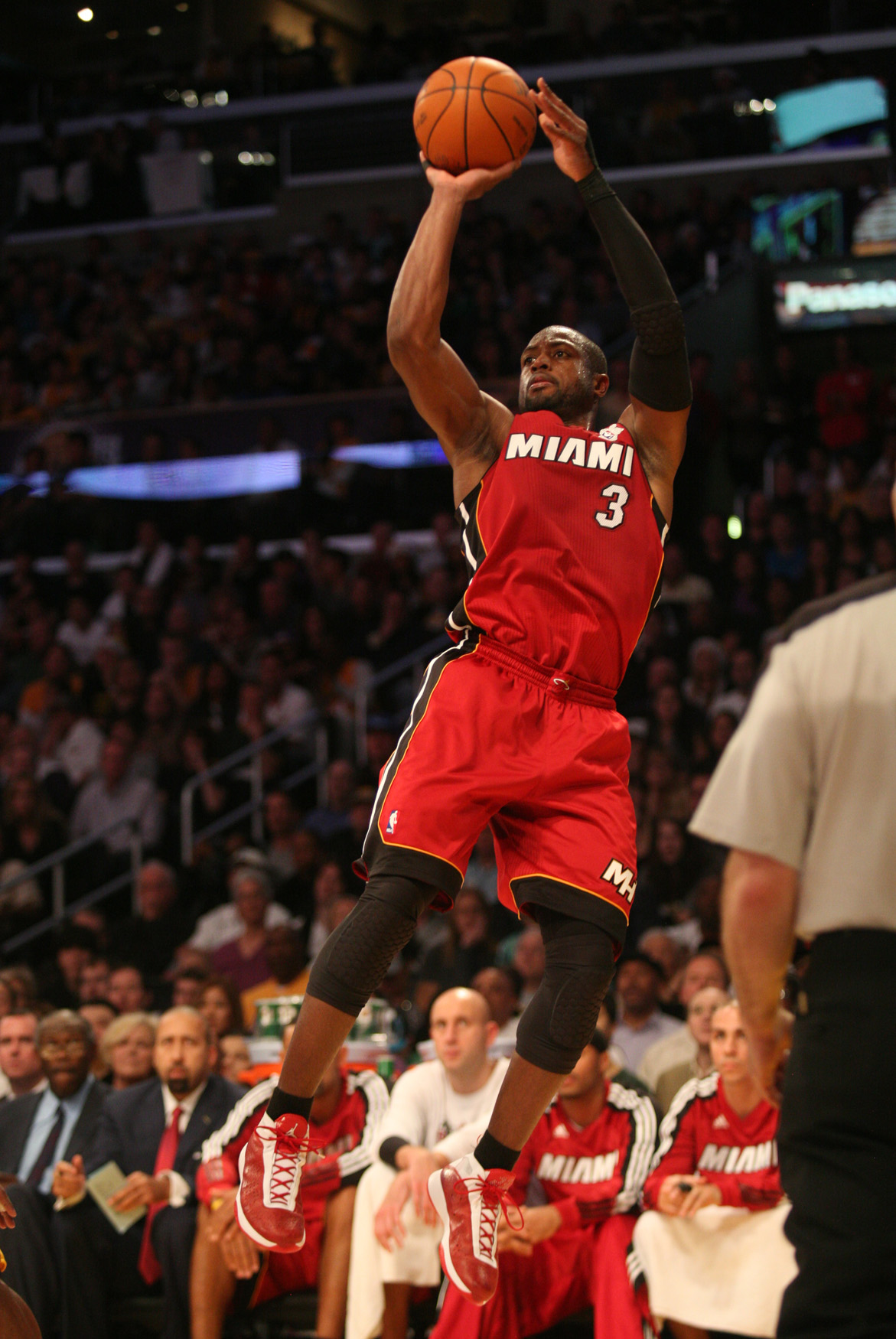 Miami Heat star Dwayne Wade is shooting his way into the league MVP conversation./Photo Credit: Burt Harris/HGStar1-News