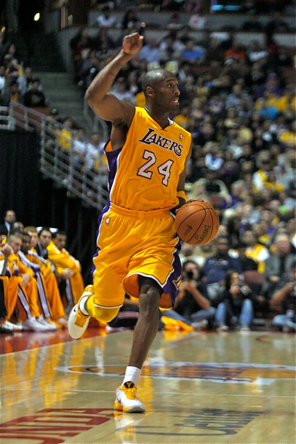 Los Angeles Lakers star Kobe Bryant is now seen as a global icon./Photo Credit: Jon Gaede