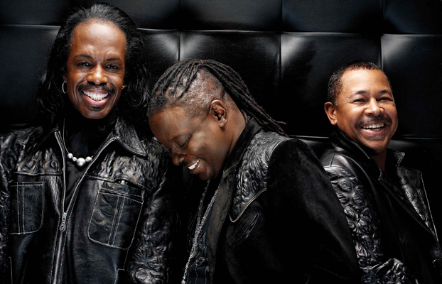 Earth, Wind & Fire members Verdine White, Philip Bailey and Ralph Johnson keeps up the band's rich tradition without leader Maurice White./Photo Courtesy of Earth, Wind & Fire/Cal State Fullerton