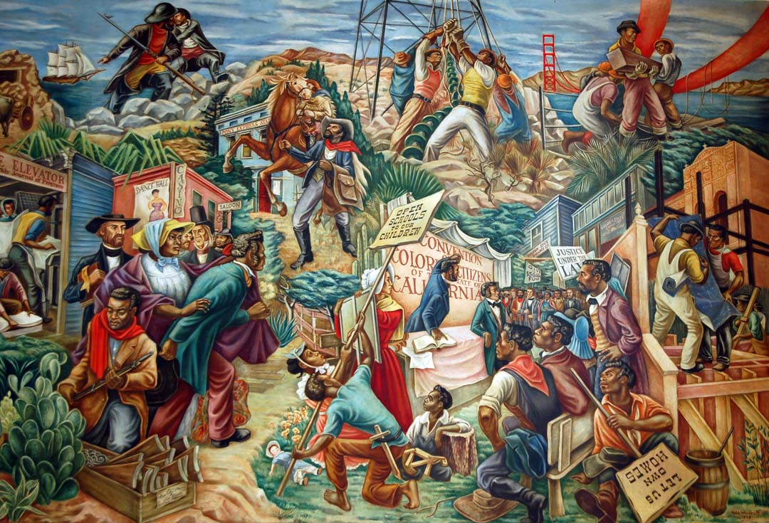 Foundation looking to preserve l a s black art history for Black history mural