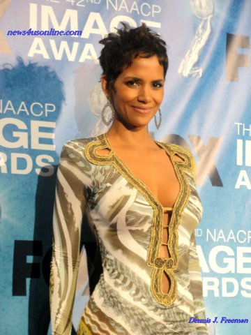 "Actress Halle Berry won a NAACP Image Award for her role in ""Frankie & Alice.""/Photo Credit: Dennis J. Freeman"