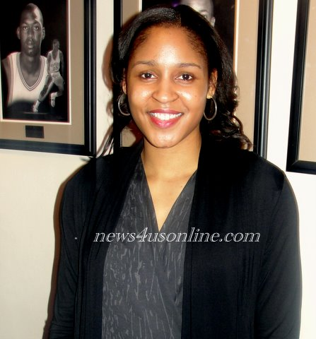 ? By Dennis J. Freeman Los Angeles, CA-Maya Moore is used to being on top. UConn's all-time leading scorer has...