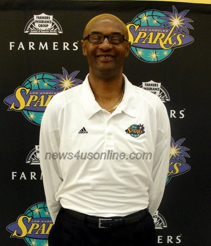"Joe ""Jellybean"" Bryant is hoping to lead the L.A. Sparks into the postseason./Dennis J. Freeman"
