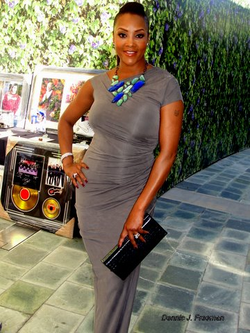Actress Vivica Fox was the recipient of the Action Icon Award for Film at the 4th Annual Celebrity and Stuntwomen's Awards Luncheon./Photo/Dennis J. Freeman