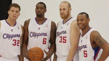 Blake Griffin, DeAndre Jordan, Chris Kaman and Caron Butler prepare for the NBA season./Cory Coffield