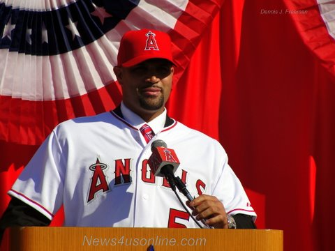 &nbsp; By Dennis J. Freeman Anaheim, CA-Albert Pujols carries a big stick. He also carries a big heart. The city...