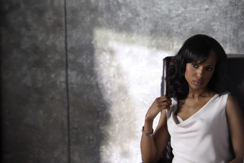 "Actress Kerry Washington, star of ABC's new drama, ""Scandal,"" is on a career upsurge. Photo Credit:ABC/DANNY FELD"