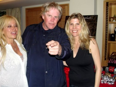 Actor Gary Busey and wife Steffanie Sampson attend the Roger Neal Style Hollywood Academy Awards Beauty & Couture Suite in Beverly Hills. Photo: Dennis J. Freeman