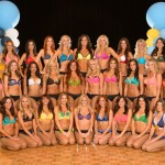 The new San Diego Charger Girls team is all set for the 2012 NFL season. Photo courtesy of the San Diego Chargers/NFL