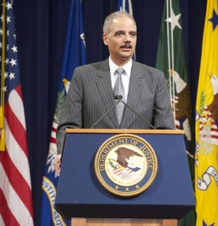 Department of Justice-Washington, D.C.-Attorney General Eric Holder spoke on a myriad of topics at the National Action Network's 14th Annual...