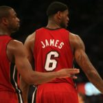 Super Duo: Miami Heat All-Star guard Dwayne Wade (left) may be known as &quot;Batman, but LeBron James is the NBA&#039;s MVP this season. Photo Credit: Burt Harris, courtesy of HGSTAR1News