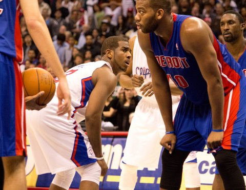 Guard Chris Paul has given the Los Angeles Clippers a new outlook and new attitude. Photo: Sterling Cross/Courtesy of the Inland Valley News.