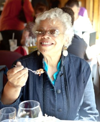 CANON CITY, Colo – Dorothy Flood, a 75-year-old African-American from Houston, briefly lost her composure as she entered the train's dining...