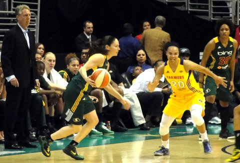 Los Angeles-When the Los Angeles Sparks selected Nnemkadi Ogwumike as the first overall draft pick in this year's WNBA Draft,...