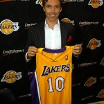 All-Star point guard Steve Nash is now a member of the Los Angeles Lakers.