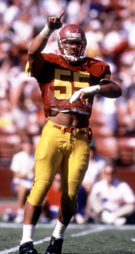 Big tribute to honor Seau at first USC home game: 80,000 commemorative wristbands and Tribute wall in great Trojan's memory....