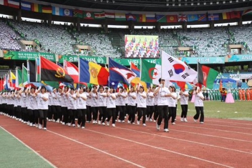 Seoul, South Korea — For the first time since 1988, the Olympic torch at the Seoul Olympic Stadium was lit...