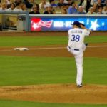 Shawn Tolleson and the rest of the Los Angeles Dodgers pitching staff could be the difference in the team making the playoffs. Photo: Dennis J. Freeman