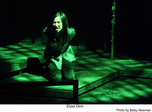 "Actress Elyse Dinh gives a strong performance in ""Year of the Rabbit,"" now playing at the Atwater Theatre in Los Angeles."