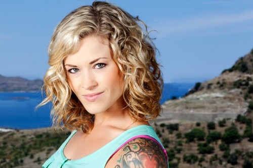 """Sara Rice, who stars in MTV's """"The Challenge: Battle of the Seasons,"""" is an advocate in fighting sexual violence."""