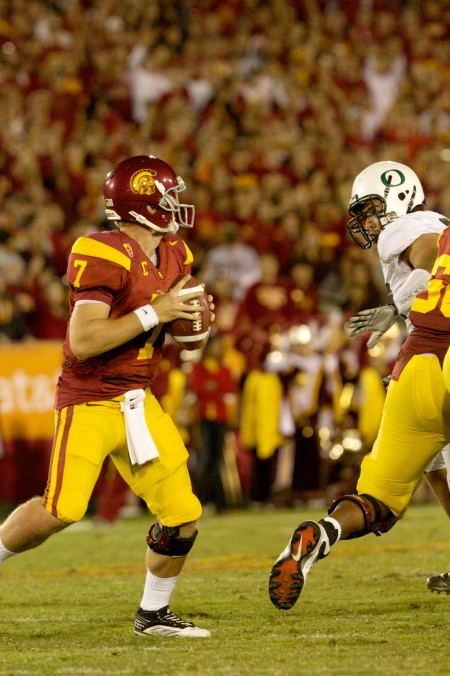 Getting Beastly Against the Trojans Arizona quarterback Matt Scott decided to go Beast mode and tossed USCs chances of competing...