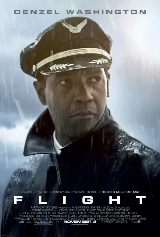 "Denzel Washington played a very intense character (Captain Whip Whitaker) in his new movie, ""Flight."" Washington is one of the..."
