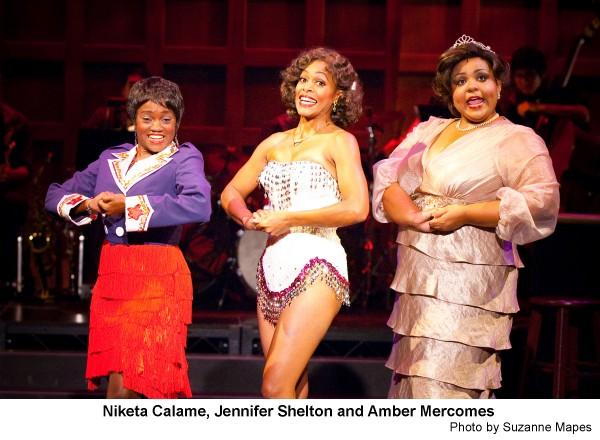 Ain't Misbehavin' co-star Jennifer Shelton (center) turns in a riveting performance in the long-running musical revue,