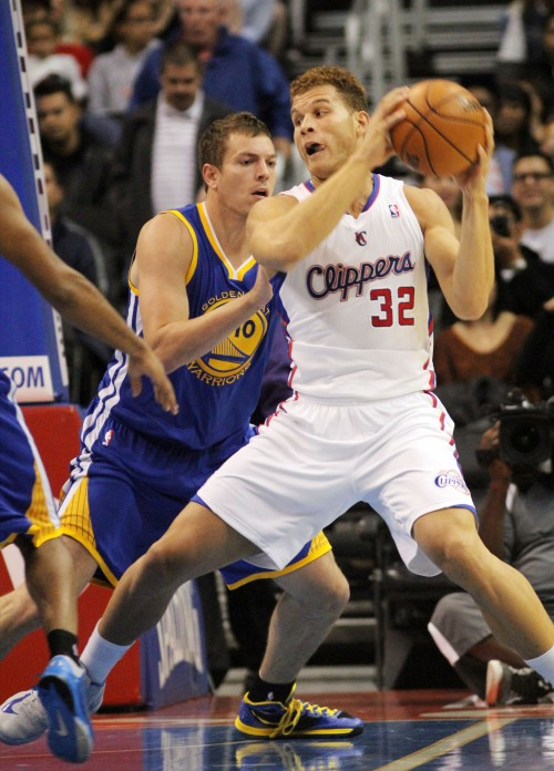 Blake Griffin and the Los Angeles Clippers came out with a bang against the Memphis Grizzlies in their home season debut at Staples Center. Photo: Burt Harris/Newsusonline.com