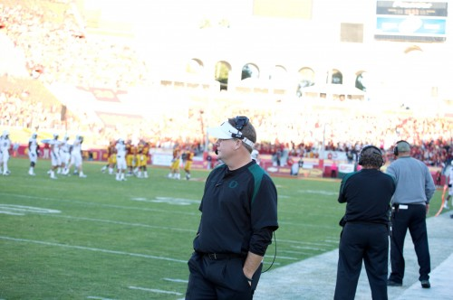 Philadelphia Eagles head coach Chip Kelly could be in the hot seat if he doesn't turn his team around from a 0-2 start. Photo Credit: Mac Alexander
