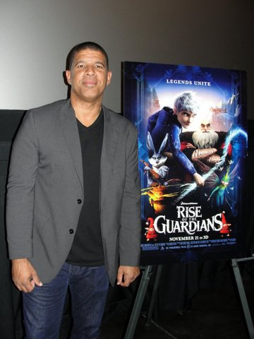 """Rise of the Guardians"" Director Peter Ramsey at a recent press screening of the film in Los Angeles. Photo Credit: Dennis J. Freeman/News4usonline.com"
