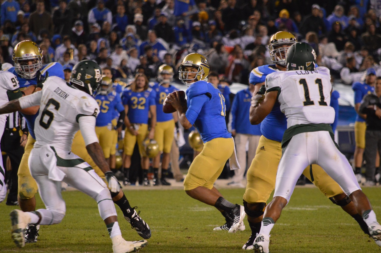 Despite Holiday Bowl defeat, 2012 season a breakout year for UCLA redshirt quarterback Brett Hundley SAN DIEGO-From the first official...