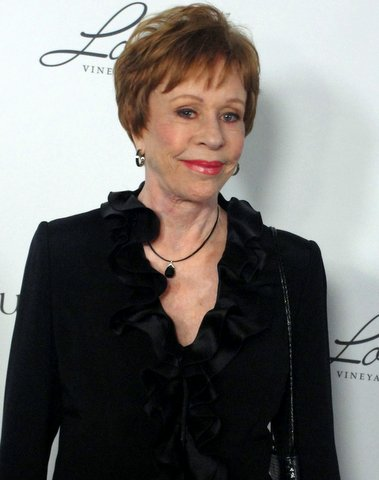 Funny Lady Carol Burnett Gets Honor