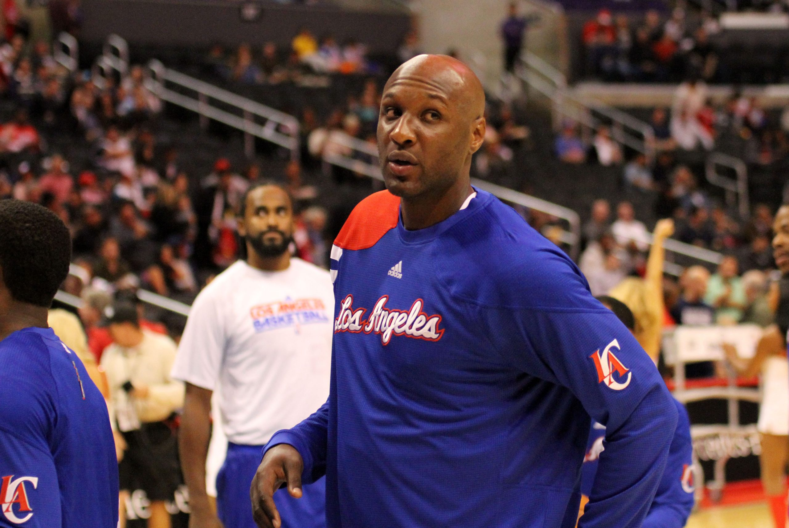 Lamar Odom is rounding back into the force that earned the NBA's Sixth Man Award. Photo Credit: Burt Harris/News4usonline.com