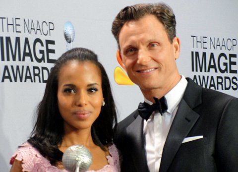 LOS ANGELES-Actress Kerry Washington had a big night at the 44th NAACP Image Awards, claiming three honors, being part of...