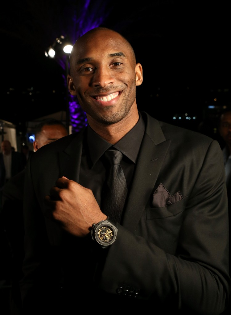 LOS ANGELES, CA - MARCH 20: Los Angeles Laker Kobe Bryant attends the celebration of Hublot's new brand ambassador Kobe Bryant on March 20, 2013 in Los Angeles, California.  (Photo by Jesse Grant/Getty Images for Hublot)