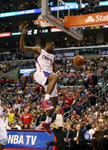 Throwing it down: DeAndre Jordan and the Clippers have hammered the Lakers all season. Photo Credit: Burt Harris/Prensa Internacional