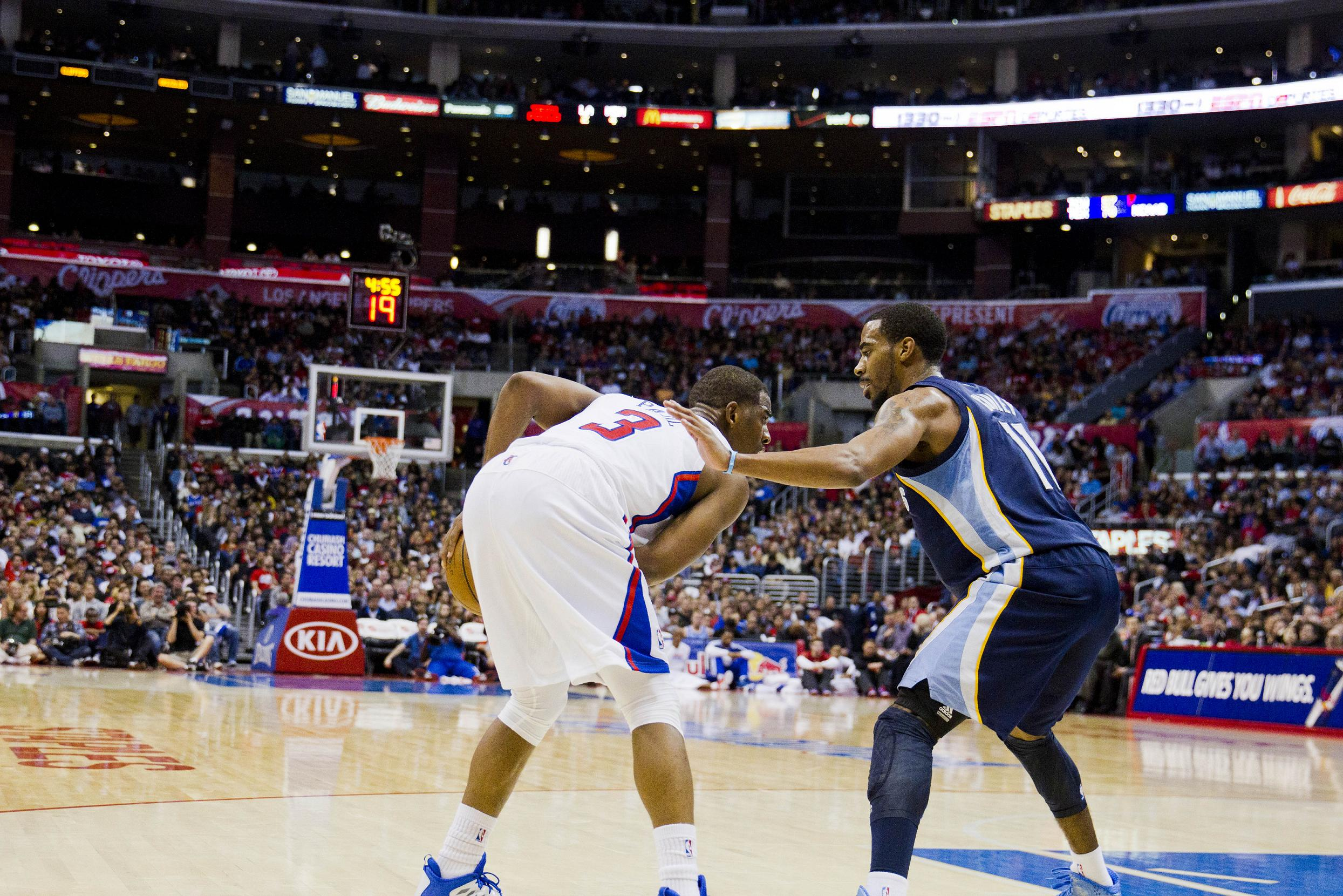 Clippers Sends Message to Grizzlies