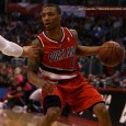 NEW YORK Damian Lillard of the Portland Trail Blazers is the recipient of the Eddie Gottlieb Trophy as the 2012-13...