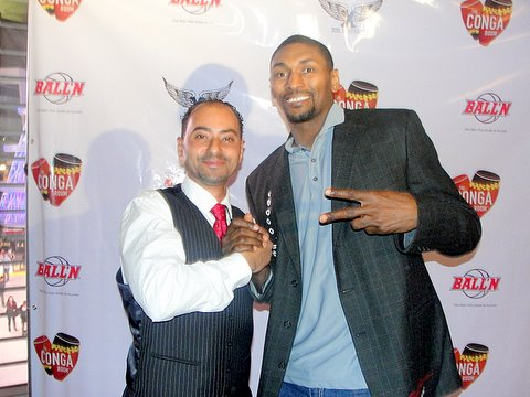 Metta World Peace has been an outspoken advocate in bringing attention to mental illness. Photo Credit: Dennis J. Freeman