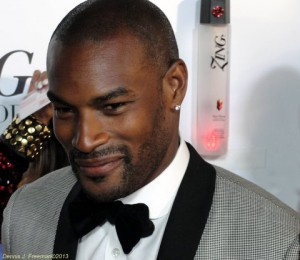 Supermodel Tyson Beckford at the post BET Awards event at the Belasco Theatre. Photo: Dennis J. Freeman / news4usonline.com