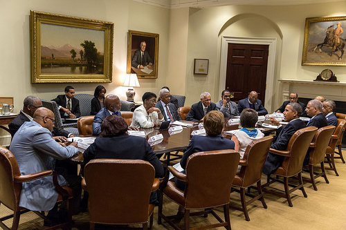 Obama Talk Equality with Black Faith Leaders