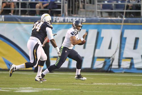 Chargers Come up Short Chasing Seattle