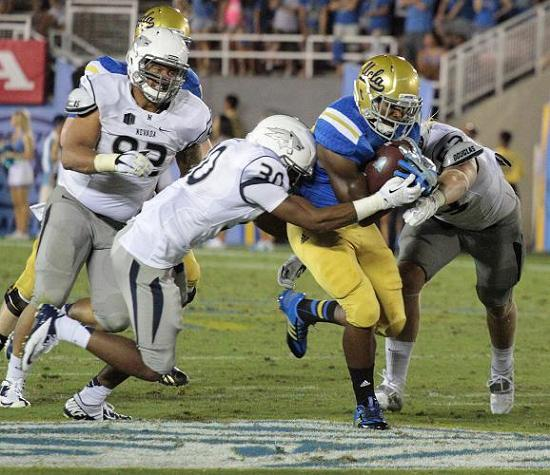 The UCLA Bruins football team is playing lights out at the moment. Photo courtesy of Jevone Moore/Full Image 360