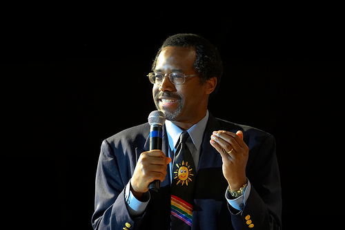 "Dr. Ben Carson calls the Affordable Care Act (Obamacare) the ""worst thing since slavery."" photo credit: Vaughan via photopin cc"