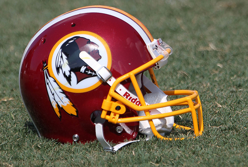Football Fumbles: Pale to the Redskins