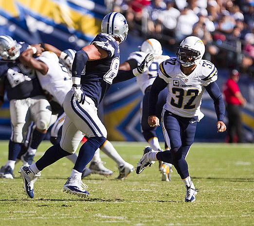 Safety Eric Weddle and the San Diego Chargers defense will have to step up their play against Peyton Manning and the Denver Broncos. Photo Credit: Jevone Moore/News4usonline.com