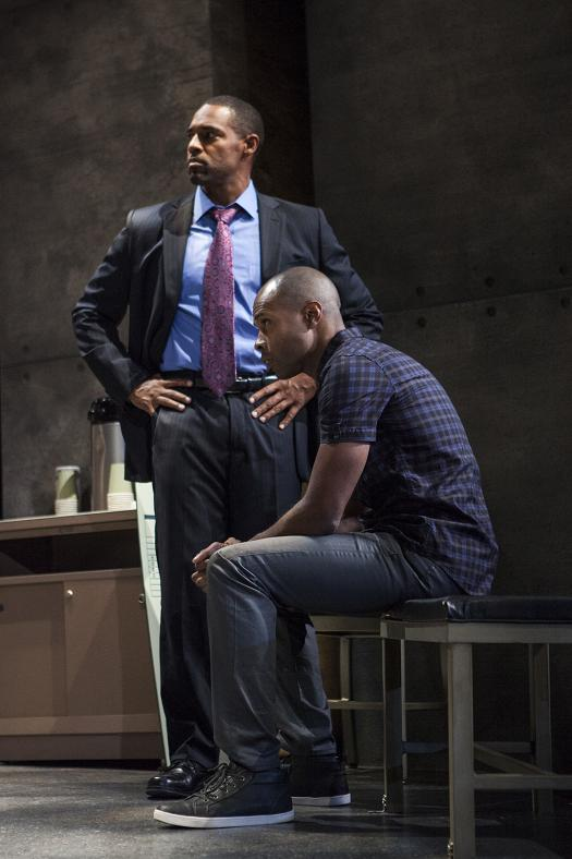 Jason George, Jacques C. Smith (seated). Photo by Jim Cox.