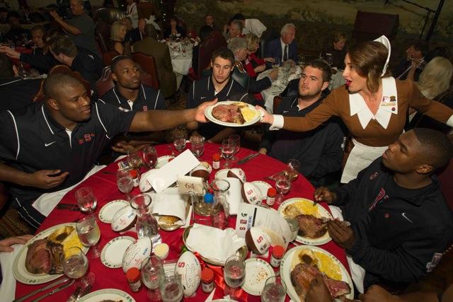 Teams Enjoy the Beef at Lawry's